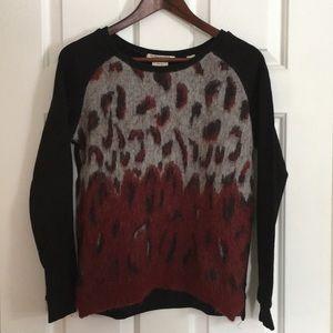 Scotch & Soda Animal Print Sweatshirt